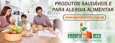 O Empório Ecco é uma loja virtual especializada na venda de produtos e alimentos naturais e saudáveis. Aqui você compra online e recebe em casa alimentos sem glúten, sem lactose, sem leite, orgânicos e para dietas especiais, além de vitaminas e suplementos alimentares! Acesse: https://www.emporioecco.com.br/