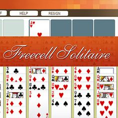 AARP Connect's online Freecell Solitaire game
