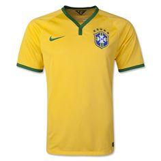 5a0141a221 Brazil 2015 Home Soccer Jersey - Size L Nike Soccer Jerseys