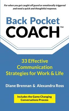 Back Pocket Coach Book Review & Giveaway Great guide and resource for effective #communication strategies at home and work~ A Mama's Corner of the World