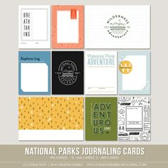 National Parks - In a Creative Bubble