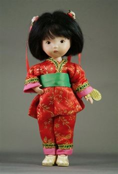 Happily Ever After - Nancy Ann Storybook Doll - Chinese