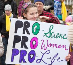 One of our favorite signs from the #marchforlife We had an amazing time defending the sanctity of life! #prolife #lifedefenders