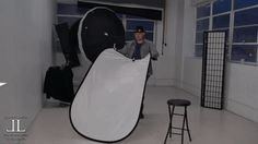 """Quick Tip: How to Easily Fold a Reflector in One Simple Motion  A quick tip that will save you some time frustration and possibly embarrassment. How to easily fold a rectangular reflector in one simple motion. This video was created by photographer Jason Lanier who has seen his fair share of photographers struggling with this simple task. We understand that even something this basic needs to be taught. Far to often we all try to skip over the little things and end up struggling. """"Folding…"""