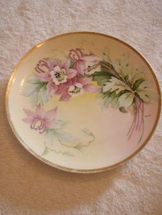 Vintage Porcelain Hand Painted Vienna China Austria Plate Artist Signed Nice | eBay