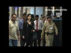 Katrina Kaif returns from TOIFA awards 2013 spotted at Mumbai Airport.
