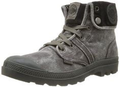 Palladium Us Baggy Boots femme Gris Metal) 36 Sneakers Mode, Sneakers Fashion, Hiking Shoes, Running Shoes, Halter Prom Dresses Long, Palladium, Beaded Moccasins, Baggy, Heel Pain