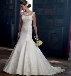 2014 A vestido de novia traje de gala la noche de bodas