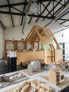 WikiHouse // Hasselt - Maastricht http://maastricht.gezien.nl/files/2014/05/kunsttour-2014-4.jpg #WoodworkBelgium