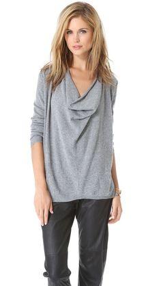 In black /// Joie Crush Sweater