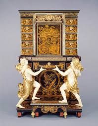 A cabinet-on-stand attributed to André-Charles Boulle at the Getty Museum - Louis XIV furniture - Wikipedia Louis Xiv, French Furniture, Antique Furniture, European Furniture, Furniture Design, Getty Museum, Metropolitan Museum, Cleveland, Ancient Architecture