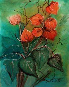 Lampionvirág. Techno, Painting, Art, Painting Art, Paintings, Kunst, Paint, Draw, Art Education
