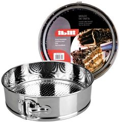 springform STAINLESS STEEL cake tin  26 cm dia  65cm deep  *** Check out this great product.