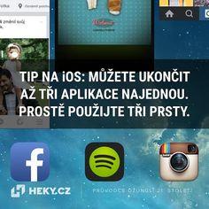 Věděli jste, že na iOS můžete současně ukončit až 3 aplikace? Ios