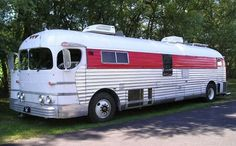 1951 General Motors, Greyhound Bus converted to a motorhome/coach