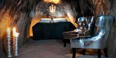 Quem quer ficar em uma suite 500 pés abaixo da terra? É possível na Suécia, na Sala Silvermine.