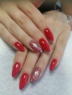 Red Pretty Nails