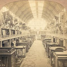 Stereoview  | IRELAND-DUBLIN-EXHIBITION-OF-1865-STEREOVIEW