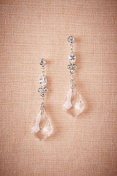 Wedding accessories jewelry delicate bridal jewelry perfect for a black-tie wedding Crystal Ship Chandelier Earrings from BHLDN Wedding Jewelry And Accessories, Wedding Jewelry For Bride, Wedding Earrings, Bridal Jewelry, Chandelier Earrings Wedding, Silver Chandelier, Crystal Chandeliers, Vintage Chandelier, Bridal Necklace