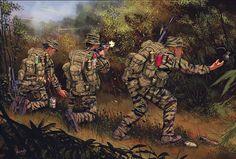 """US reconnaissance team"", Johnny Shumate"