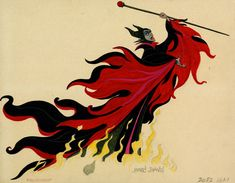 Marc Davis - Maleficent