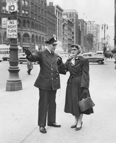 April 12, 1953. Detroit Police