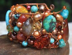 Copper Cuff from Soul of a Gypsy Jewelry