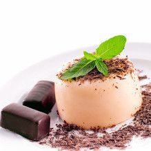 Tupperware - Natilla de chocolate blanco con ron