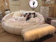 Buy Round beds online in Karachi Pakistan Room Ideas Bedroom, Girls Bedroom, Bedroom Decor, Bedrooms, Bedroom Inspo, Hangout Room, Round Beds, Cute Room Decor, Cozy Room
