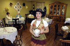 Sue & Esther's American Tea Room, Frankenmuth. Vintage Tea Rooms, Tea Places, Tea Houses, Bakeries, Lakes, Tea Time, Tea Party, Michigan, Culture
