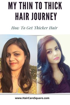My Thin To Thick Hair Journey| How To Get Hair Thicker