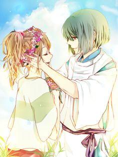 Haku & Chihiro - Spirited Away <3 Memo to myself - find fanfiction.