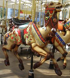 Love this highly decorated camel on the Looff Carousel, Riverfront Park, Spokane WA