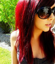 Technicolor: My Hair Color - How To Get Dark Red Hair!!