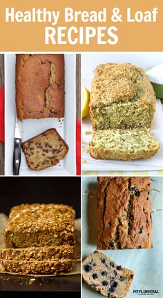 Healthy Bread and Loaf Recipes #healthy #recipe