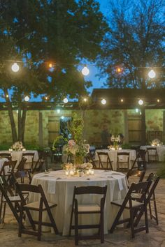 Photo: Day 7 Photography - outdoor wedding reception idea