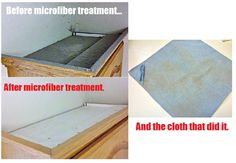 Cleaning with Microfiber…No Sprays or Chemicals Required!