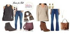 When it comes to jeans, everybody has their favorites. From distressed, slouchy boyfriend jeans to dark wash, high-waisted skinny jeans and everything in between, there's a style of jeans to suit every personality. Here's a look at 5 fave jeans styles and what to wear them with this fall.  Jeans   Top( short sleeve) ...