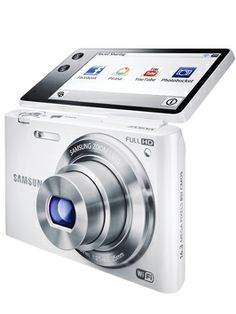 Samsung MV900F 16.3 Megapixel Multi View Smart Camera with Wi-Fi - White
