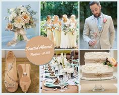 Toasted Almond Wedding Colour Trends in Spain 2015