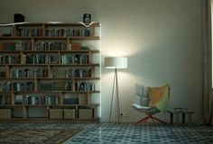 Cool And Relaxing Reading nook