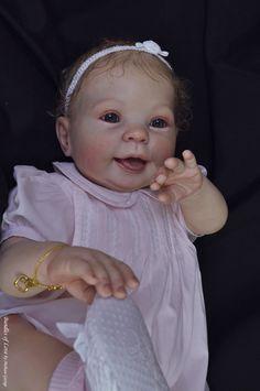 COOKIE REBORN VINYL KIT by Donna Rubert  9 month old 26 Inch Reborn