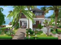 The Sims 3 House Building -Tropicana 30 - DutchSims 3 Master