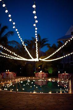 lights pool