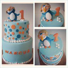Pororo Penguin 1st Birthday Cake - Lola Pola Designs코리아카지노《SK5100.COM》코리아카지노