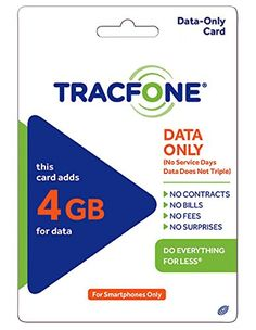 #Tracfone USA Only. Adds 4GB (4096MB of DATA). For Android Smartphones or BYOP Smartphones only. DATA ONLY -- Does not add service days or minutes. You will rece...