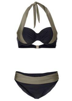 Halterneck bikini, B cup