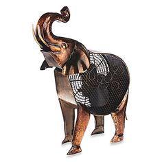 The African Elephant Figurine Fan - Site Title Elephant Art, African Elephant, African Animals, Elephant Nursery, Watercolor Paintings Of Animals, Animal Paintings, Barn Wood Picture Frames, Fans For Sale, Jungle Art