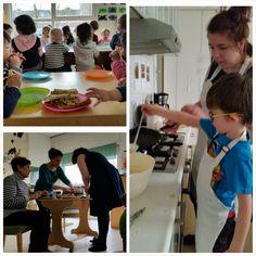 27 maart, Nationale #Pannenkoekdag. We smulden van banaan, appel en rozijnen op de pannenkoeken. Oma Bep at ook gezellig mee!