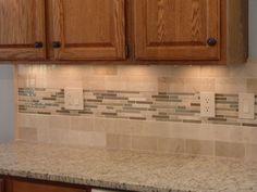 10 Fantastic Kitchen Tile Backsplash Ideas With Oak Cabinets Design 2